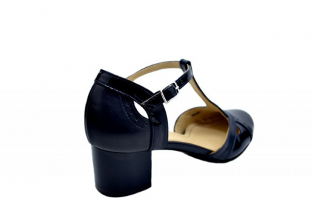 Pantofi Dama Piele Naturala Bleumarin Helene D015793
