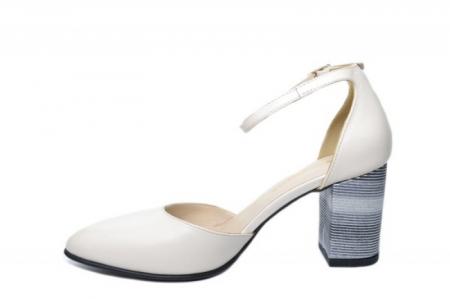 Pantofi Dama Piele Naturala Bej Moda Prosper Iris D02030 [1]