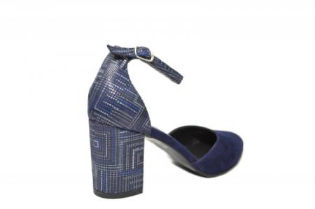 Pantofi Dama Piele Naturala Bleumarin Moda Prosper Iris D02032 [2]