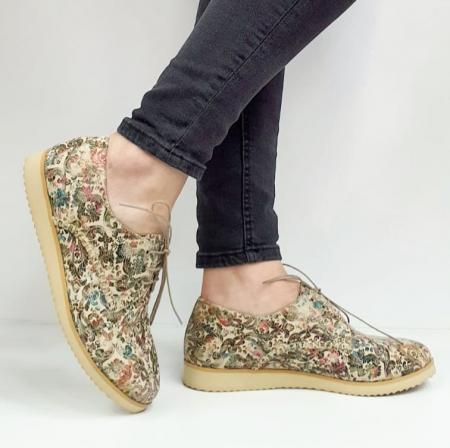Pantofi Casual Piele Naturala Kalista D020381