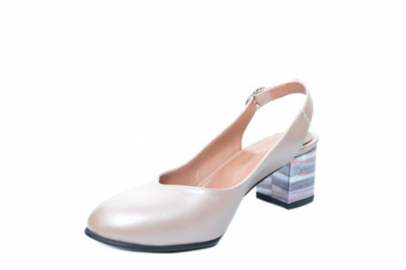 Pantofi Dama Piele Naturala Nude Moda Prosper Kara D020342