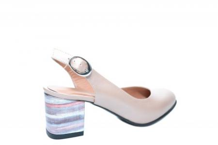 Pantofi Dama Piele Naturala Nude Moda Prosper Kara D020343