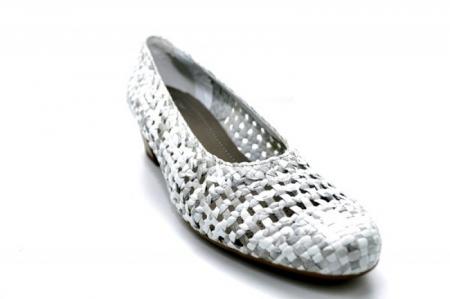 Pantofi cu toc Piele Naturala Gri Ara Katya D011384