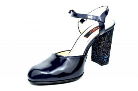 Pantofi Dama Piele Naturala Bleumarin Matheo D018272