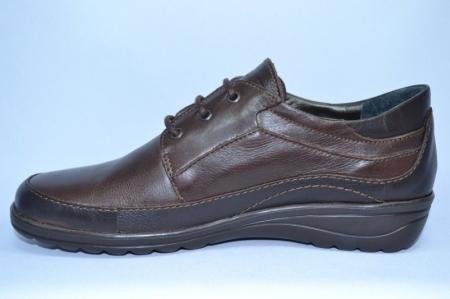 Pantofi Casual Piele Naturala Maro Belona D007231