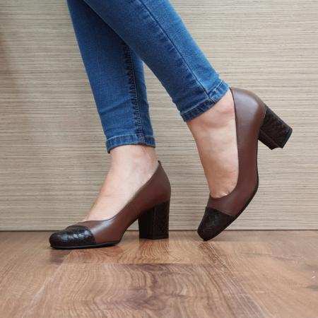 Pantofi cu toc Piele Naturala Guban Maro Evgenya D025132