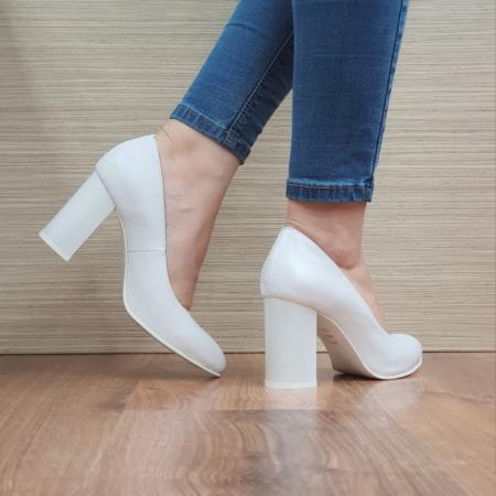 Pantofi cu toc Piele Naturala Moda Prosper Prisca D024713