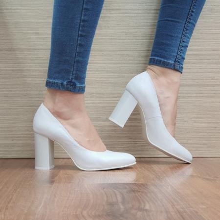 Pantofi cu toc Piele Naturala Moda Prosper Prisca D024710