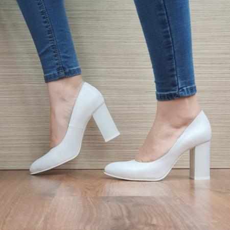 Pantofi cu toc Piele Naturala Moda Prosper Prisca D024711