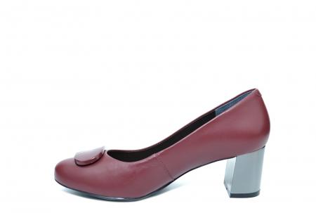Pantofi cu toc Piele Naturala Grena Epica Ramya D02065 [1]