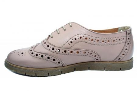 Pantofi Casual Piele Naturala Nude Randa D01639 [1]