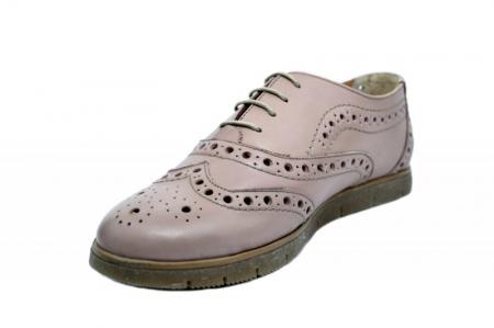 Pantofi Casual Piele Naturala Nude Randa D01639 [2]