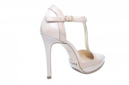Pantofi Dama Piele Naturala Nude Samira D01853 [3]