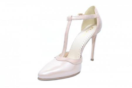 Pantofi Dama Piele Naturala Nude Samira D01853 [2]