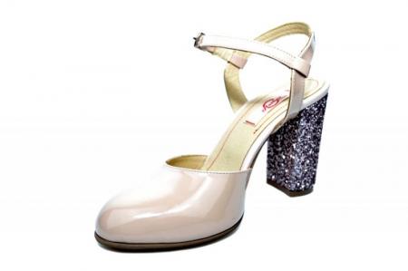 Pantofi Dama Piele Naturala Nude Thais D01838 [2]