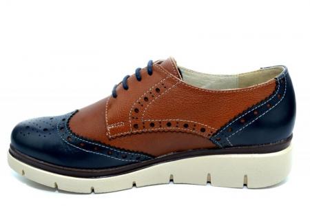 Pantofi Casual Piele Naturala Maro Valentina D012711