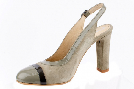 Pantofi Dama Piele Naturala Bej Vichi D00039 [1]