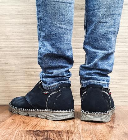 Pantofi Casual Barbati Piele Naturala Bleumarin Elisei B000973