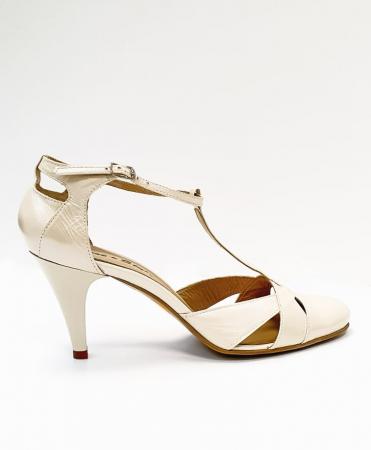 Pantofi Dama Piele Naturala Nude Axia D026660