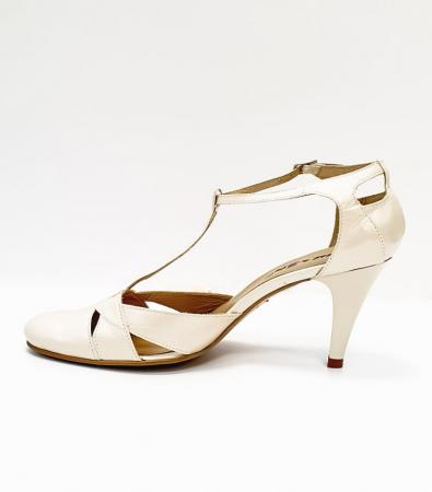 Pantofi Dama Piele Naturala Nude Axia D026661