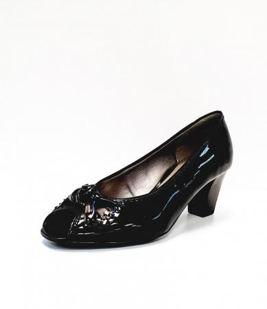 Pantofi Dama Piele Naturala Ara Negri Asia D026852