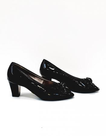 Pantofi Dama Piele Naturala Ara Negri Asia D026854
