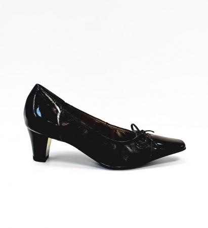 Pantofi cu toc Piele Naturala Ara Negri Mera D026860