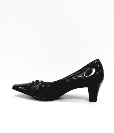 Pantofi cu toc Piele Naturala Ara Negri Mera D026861