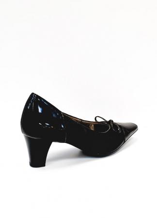 Pantofi cu toc Piele Naturala Ara Negri Mera D026863