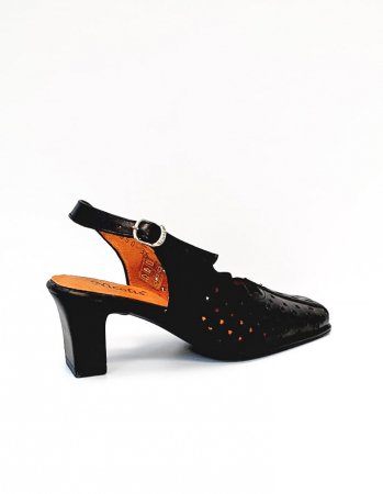 Pantofi Dama Piele Naturala Negri Omy D026940