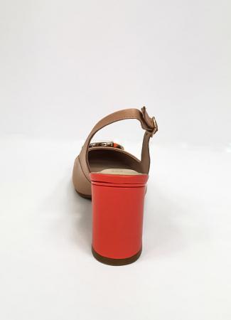 Pantofi Dama Piele Naturala Epica Bej Xia D026689
