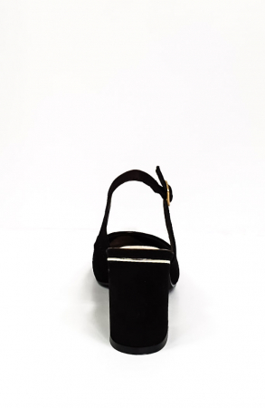 Pantofi Dama Piele Naturala Epica Negri Ena D026699