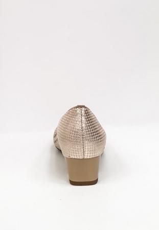 Pantofi cu toc Piele Naturala Bej Ara Enda D026708