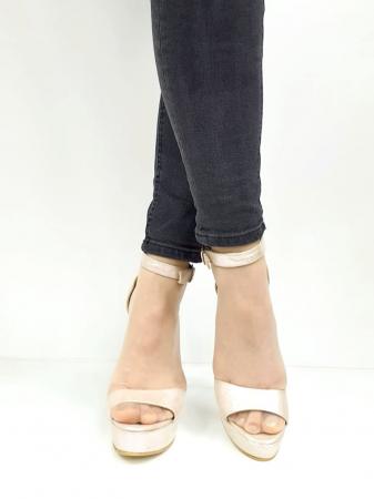 Sandale Dama Piele Naturala Nude Martha D02742 [4]