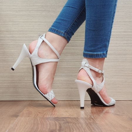 Sandale Dama Piele Naturala Moda Prosper Bej Augusta D024343