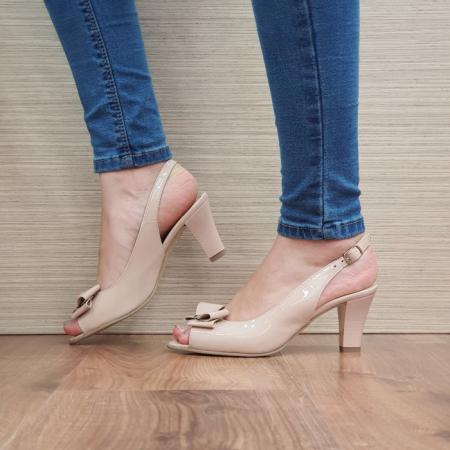 Sandale Dama Piele Naturala Nude Katarina D02430 [1]