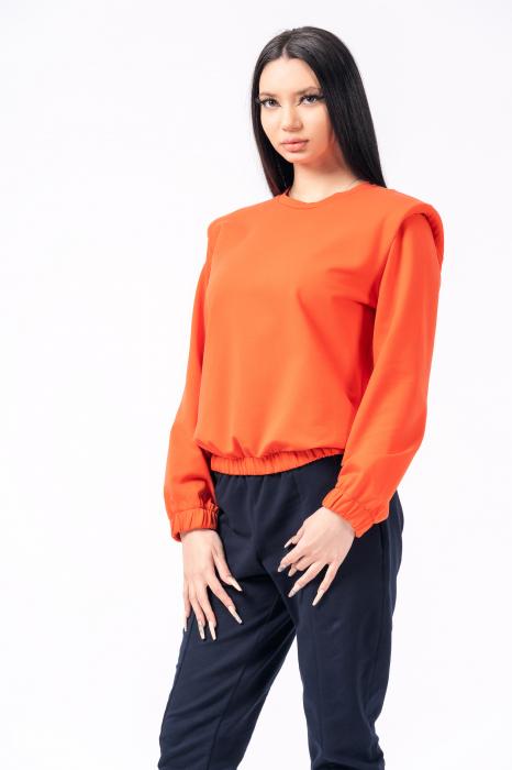 Bluza orange cu umeri [2]