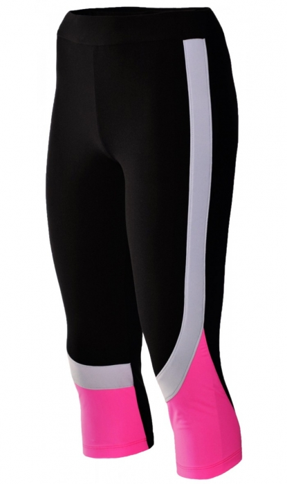 Colant Damă LAZO TECH, Negru cu Roz Neon 1