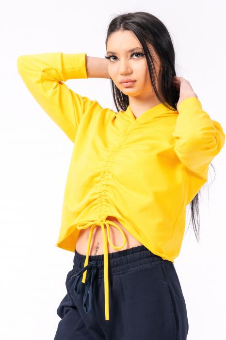 Hanorac dama, Lazo Style, galben [1]