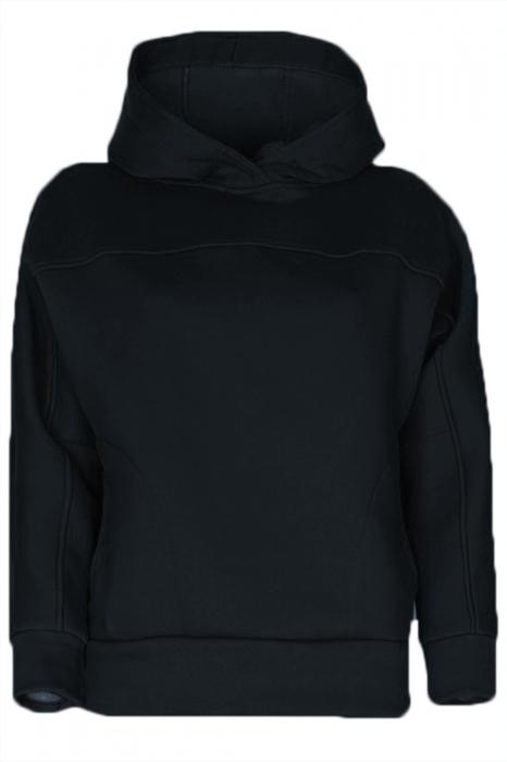 Hanorac molton negru 1