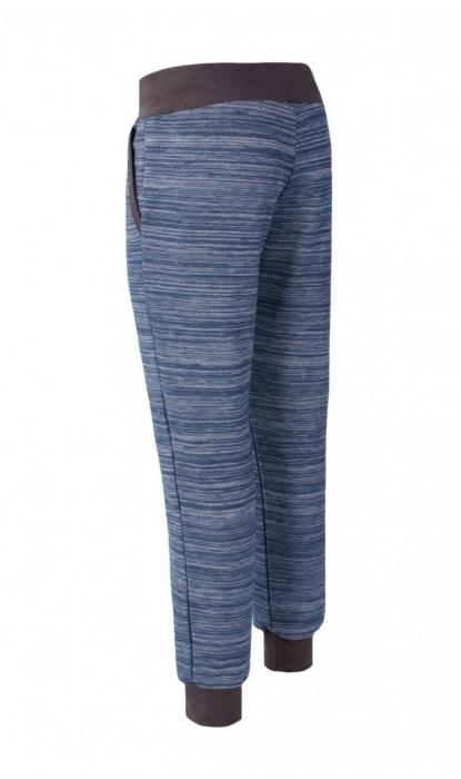 Pantalon Damă LAZO EASY & SPORT ANA Albastru cu Negru 2