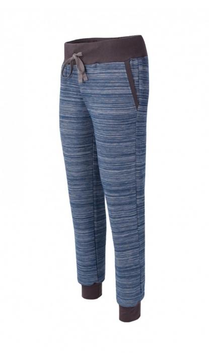 Pantalon Damă LAZO EASY & SPORT ANA Albastru cu Negru 1