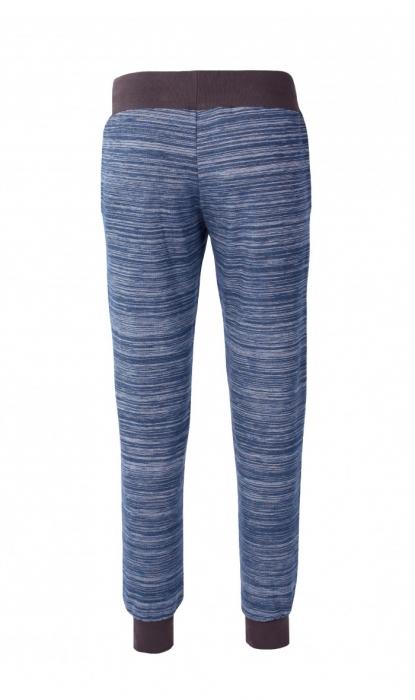 Pantalon Damă LAZO EASY & SPORT ANA Albastru cu Negru 3