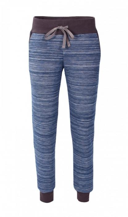 Pantalon Damă LAZO EASY & SPORT ANA Albastru cu Negru 0