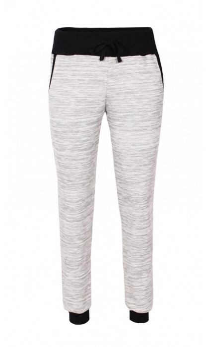 Pantalon Damă LAZO EASY & SPORT, Gri cu Negru 0
