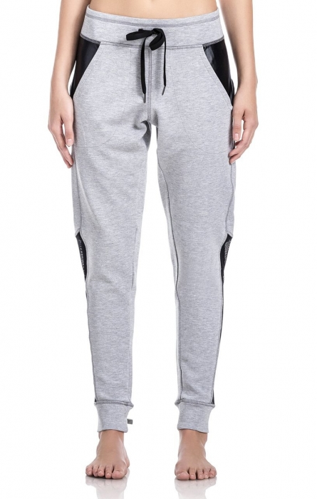 Pantalon Damă Lazo Relax, Gri 0