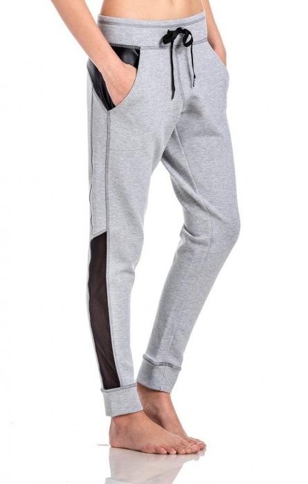 Pantalon Damă Lazo Relax, Gri 1