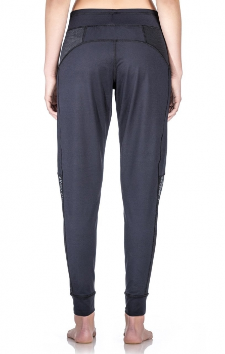 Pantalon Damă Lazo Relax, Negru 1
