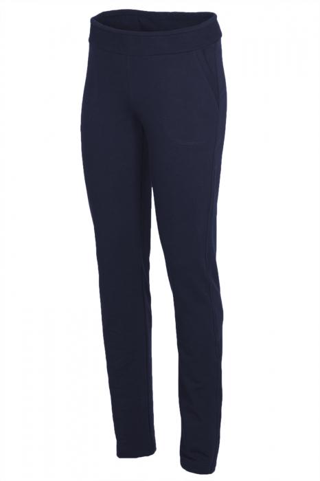 Pantalon Damă LAZO SIMPLE STYLE Bleumarin [0]