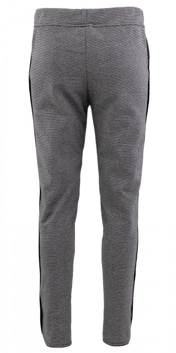 Pantalon Dama LAZO Gri cu dungi 2